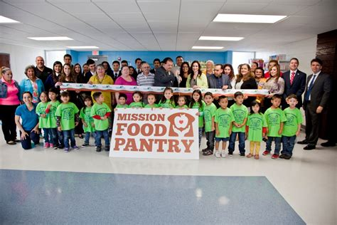 The Pantry Mission by The City Of Mission Held A Ribbon Cutting Ceremony To Announce The Opening Of The New Building