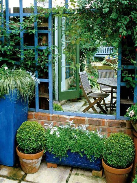 decoracion con espejos y plantas decora tu jard 237 n con espejos