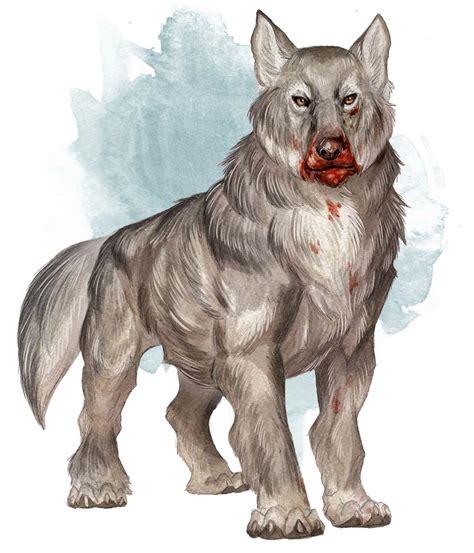 dire wolf dire wolf monsters d d beyond