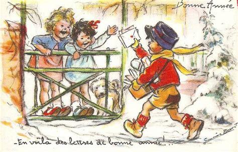 Calendrier 8 Mai 1937 Cartes Anciennes Germaine Bouret Page 8