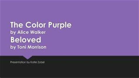 the color purple book plot ppt the color purple walker powerpoint