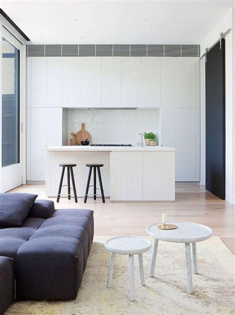 modern minimalist kitchen cabinets kitchen design idea white modern and minimalist