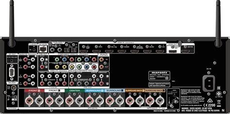 marantz sr network av receiver audiogurus