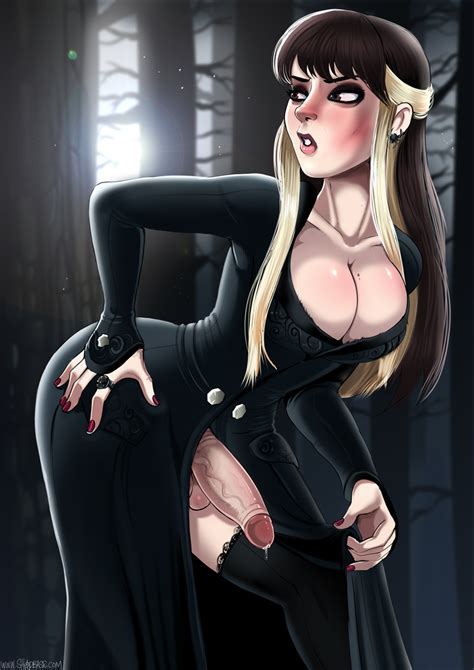 Narcissa Malfoy Dickgirl Version By Therealshadman Hentai Foundry