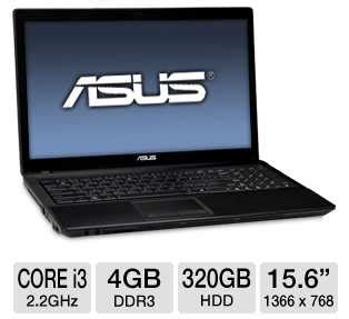 Laptop Asus I3 November asus a54c tb31 laptop computer w 2nd generation intel i3 2330m 2 2ghz 4gb ddr3 320gb hdd