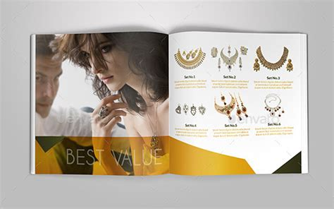 10 Fabulous Jewelry Catalog Templates To Amaze Your Audiences Jewelry Catalog Template