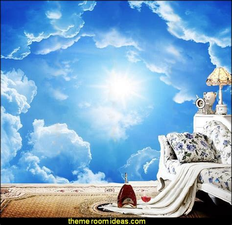Cloud Wall Mural clouds wall murals cloud wall decals cloud decorations cloud