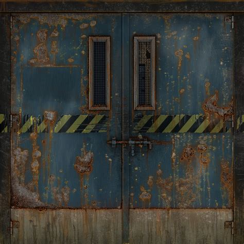 3d metal door texture by eliterocketbear on deviantart