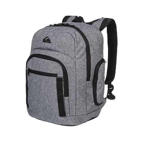 light gray jansport backpack quiksilver schoolie backpack in light grey at