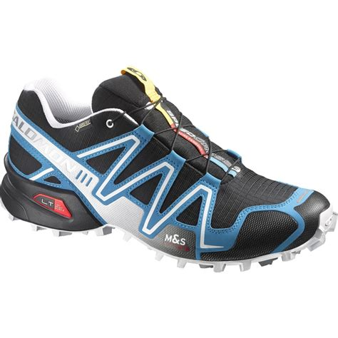 5 11 Blue Black salomon speedcross 3 gtx s trail running shoe uk 11 5