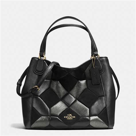 Coach Patchwork Shoulder Bag - coach edie shoulder bag 28 in patchwork leather 36581