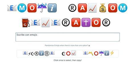 emoji generator una herramienta para transformar texto en palabras