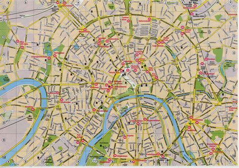 moscow map map of moscow 187 travel