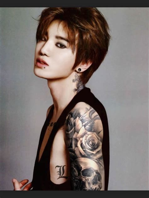 kpop idols with tattoos 320 best tattooed kpop idols images on idol
