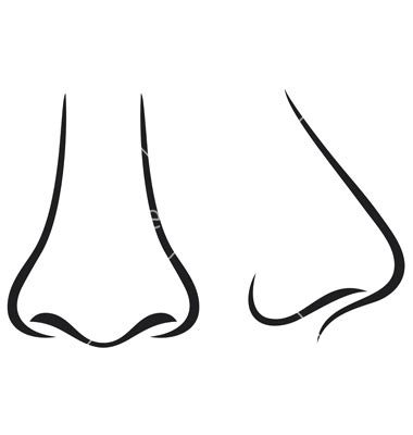 printable nose templates image gallery nose template