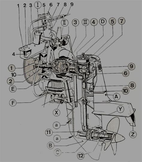 inboard motor diagram wiring diagram with description
