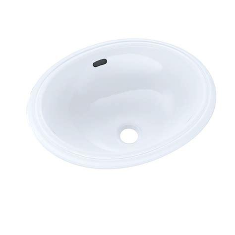 15 Inch Bathroom Sink by Toto Oval 15 Inch X 12 Inch Narrow Undermount Bathroom