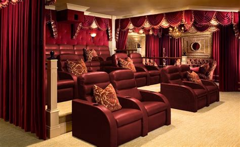 home theater  real lushes curtains blog