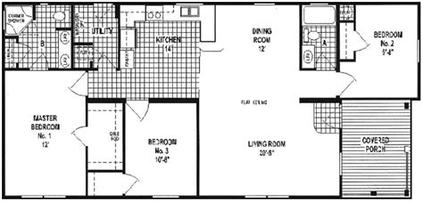 trailer house floor plans double wide mobile home floor plans guide look latest