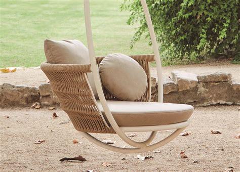 modern  sun loungers weave garden swing chair