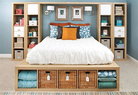 Small Bedroom Organization Ideas by 9 Storage Ideas For Small Bedrooms