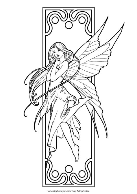 faerie coloring pages printable coloring pages az