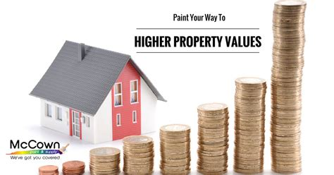 paint your way to higher property values mccown paint