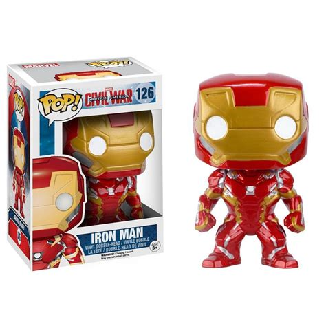 Funko Iron Civil War funko civil war pop iron bobble vinyl figure radar toys funko pop vinyl s and funko
