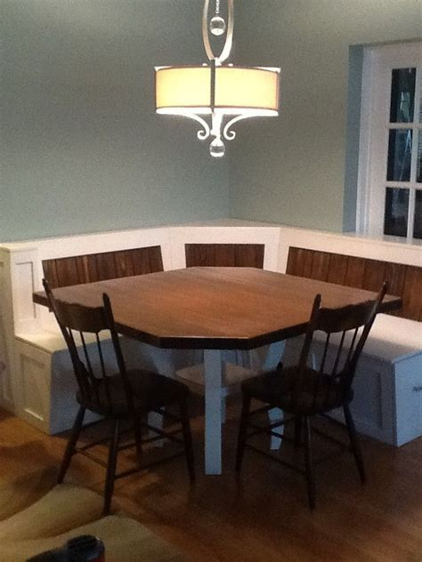 breakfast nook table only custom breakfast nook with maple table by baltic