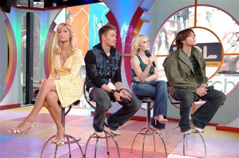 Cast Of House Of Wax by The Cast Of House Of Wax Visits Mtv S Trl 2005 Jared