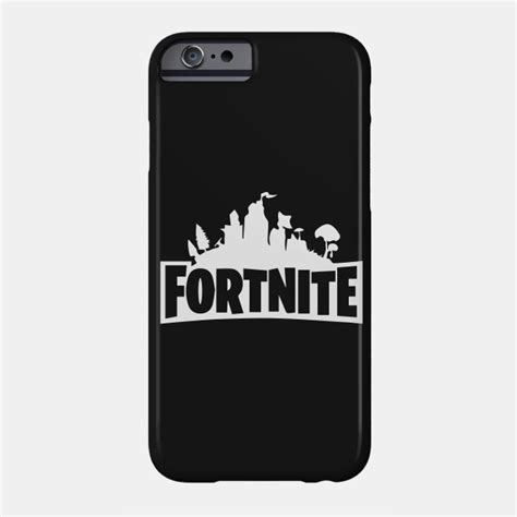 fortnite phone fortnite title black fortnite phone teepublic