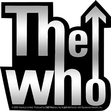 Home Decor For Men by The Who Logo Sticker