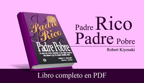 padre rico padre pobre libro completo para leer pdf 161 descarga padre rico padre pobre robert kiyosaki pdf gratis