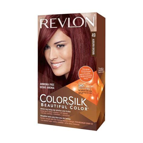 Revlon Warna Rambut jual revlon colorsilk hair color pewarna rambut auburn