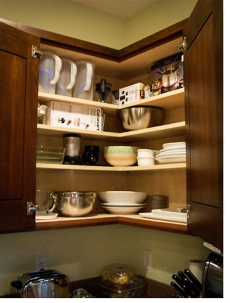Kitchen Cupboard Options About The Easy Reach Corner Cabinet