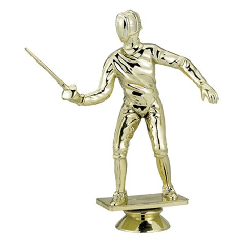 figure risers fencing trophy figure f29250g sports figures and