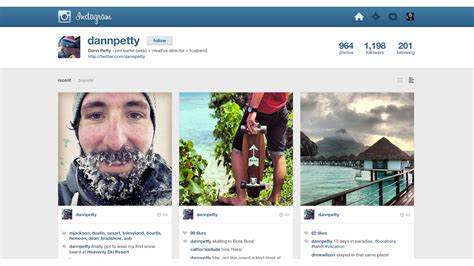 instagram layout tester rethinking instagram on the web gizmodo australia
