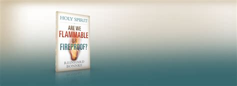 holy spirit are we flammable or fireproof books for all nations