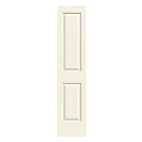Hollow Interior Door Jeld Wen 18 In X 80 In Molded Smooth 2 Panel Square Vanilla Hollow Composite
