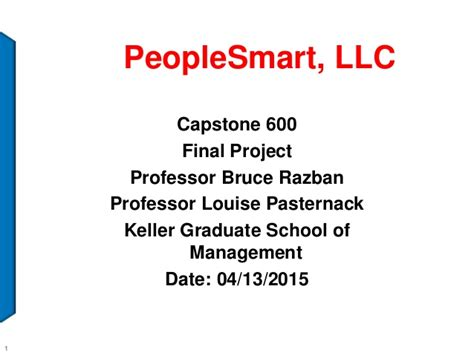 Keller Mba Project Management by Peoplesmart Llc Power Point Week 7rev1 1