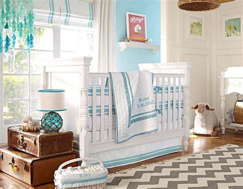 aqua nursery rug simple turquoise bedding and grey chevron rug from pb s aqua nursery i think i could