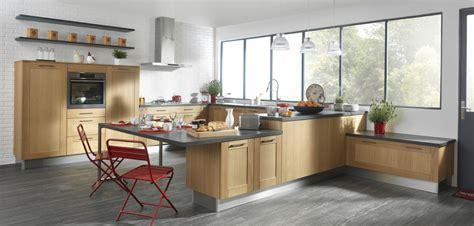 cuisine et grise cuisine bois et gris