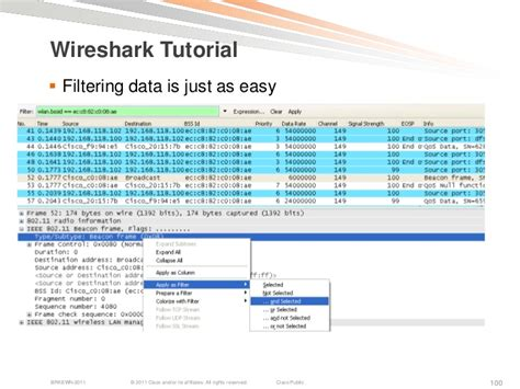 wireshark statistics tutorial troubleshooting wireless lans with centralized controllers