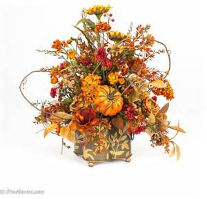 fall floral arrangements custom silk fall floral arrangement traditional
