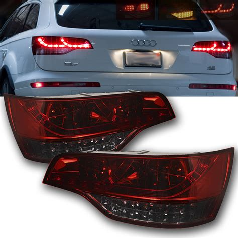 07 09 Audi Q7 Style Led Lights Smoked