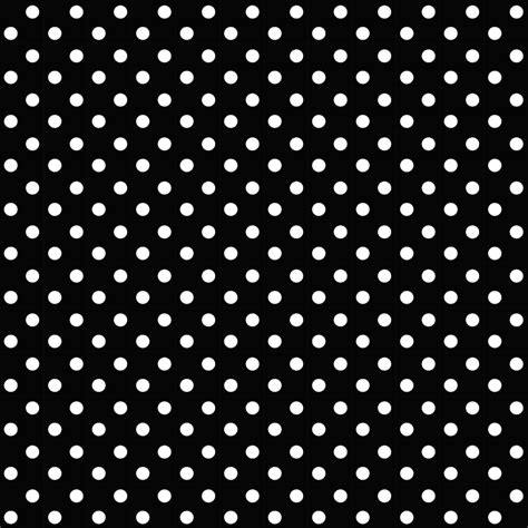 Polka Dot Pattern Black | free digital black and white scrapbooking paper