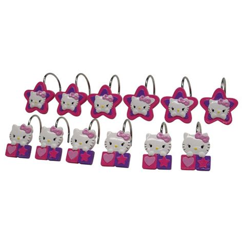 Hello Kitty Decorative Bath Collection 12 Piece Shower