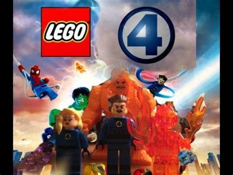 Custom Squad 4 brick squad custom lego fantastic 4 minifigures review