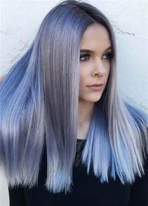 frosting your hair roots 50 magically blue denim hair colors you will love