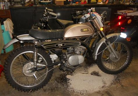 vintage motocross bikes for sale usa vintage 1969 ct 1 yamaha dirt bike 175cc enduro for sale